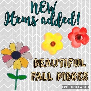 🌺ADDING NEW ITEMS ALL WEEK!🍂